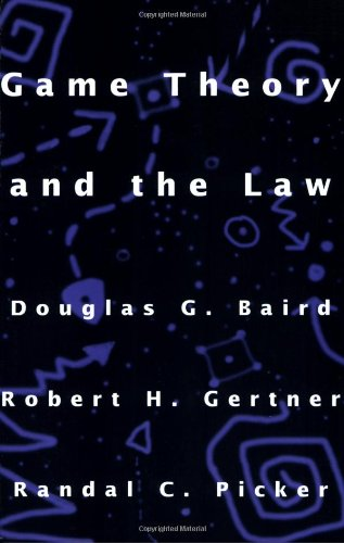 Pdf Math Game Theory and the Law
