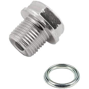 Amazon com: OEM SUZUKI Oil Drain Plug W/Washer GSX-R GSXR
