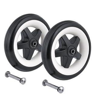 Amazon.com: Bugaboo Bee Juego de ruedas traseras Sustitución ...