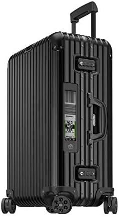 RIMOWA Topas Stealth ALU Premium Collection - Maleta (67 L), Color Negro