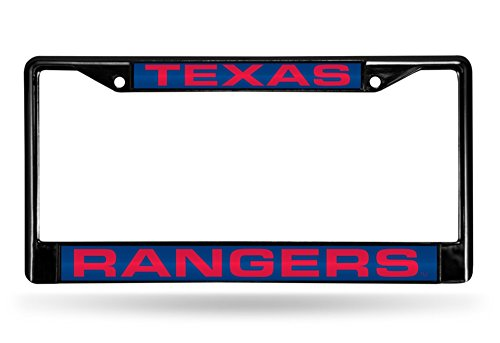 ack Metal Laser Cut License Plate Frame (Texas Rangers Frame)
