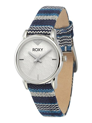 - Roxy Women's RX/1018WTBL The Huntington Blue Multicolored Fabric Strap Watch