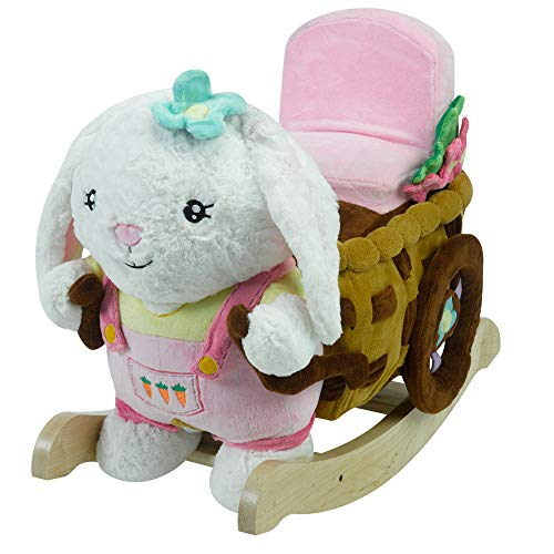 - Beatrice Bunny Play and Rock Engraved with Your Child's Name in Choice of Colors