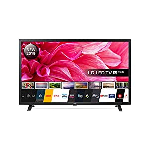 LG Electronics  32LM630BPLA.AEK 32-Inch HD Ready Smart LED TV with Freeview Play – Ceramic Black colour (2019 Model), with Alexa built-in