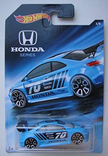 Hot Wheels Honda Series, Blue Honda Civic SI -