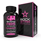 Skinny ABS by Rockstar, The #1 Targeted Thermogenic Diet Pill for 6-Pack Abs, Fast Fat Burner, Weight Loss Pills, 60 Capsules Diet Pill for Women … Review