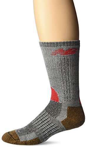 New Balance Trail Crew Socks (1 Pair),Black/Orange, Shoe Size: Women