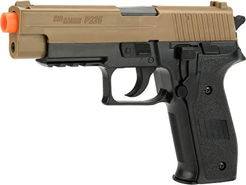 Palco Sports 280149 Sig Sauer P226 Spring Pistol+ 50Ct. Bb Pack, Black/Tan ()