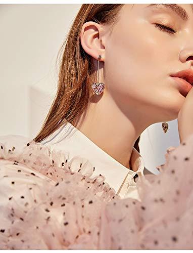 LSDAMW Earrings For Women Drop Dangle Girls Love Small Earrings Korean Earrings Atmosphere Senior Sense Female