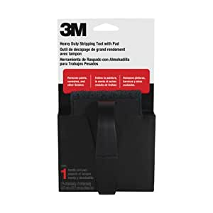 3M Heavy Duty Stripping Tool, 1 Handle with 1 Pad, (10110NA)