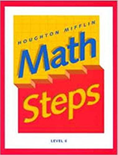 Amazon math steps student edition grade 6 2000 9780395985380 math steps student edition grade 6 2000 by houghton mifflin fandeluxe Gallery