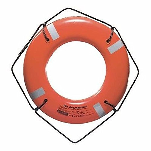 CAL-JUNE INC. Life Ring Buoys Ring Buoy W/Tape 30