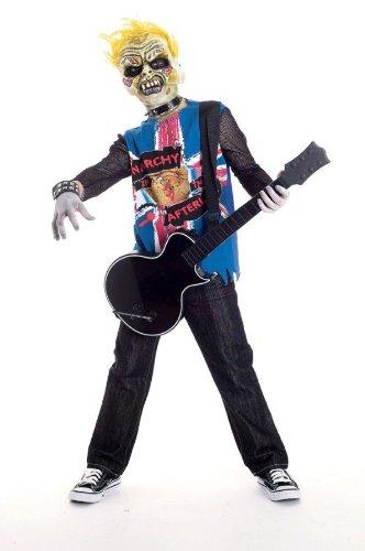 Zombie Icons Punk Rawk Costume, Medium (7/8)