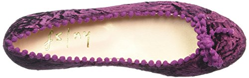 French Sole Fs/Ny Women's Yolk Ballet Flat Raisin MyjflhJlPa