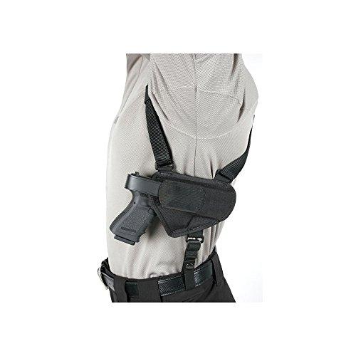 BLACKHAWK! Black Nylon Horizontal Shoulder Holster, Size 00, Medium, (2-3