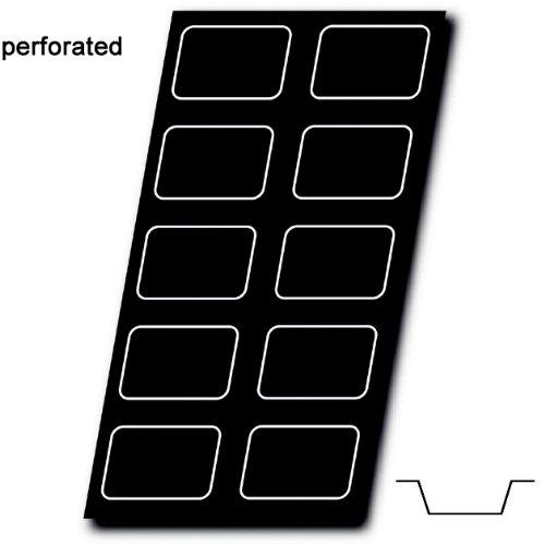 """Silform Perforated Mat, Loaf 5"""" x 3-3/8"""" x 1-3/16"""" High, 10 Cavities"""