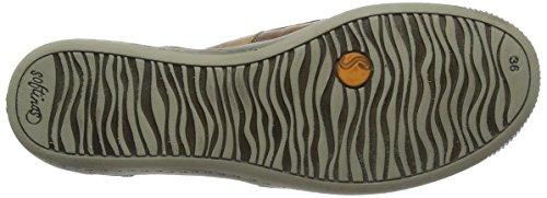 SoftinosIta298sof - Zapatos de Tacón mujer Marrón (Brown)