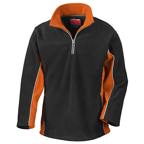 Result sport fleece - Black/Orange - 2XL