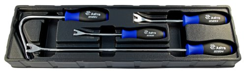 Astro 9589 4-Piece Upholstery Removal Tool Set by Astro Pneumatic Tool