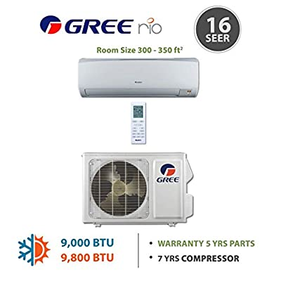 GREE Rio Wall Mounted Ductless Mini Split Heat Pump System