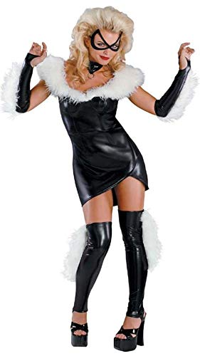 The Amazing Spider-man - Black Cat Sassy Prestige Adult Costume Size 4-6 Small for $<!--$15.99-->