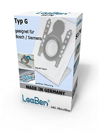 Super 20 Staubsaugerbeutel zu Siemens VS 10000-10999