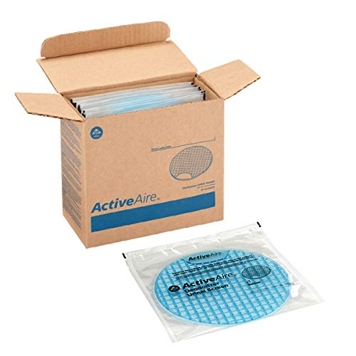 ActiveAire Deodorizer Urinal Screen by GP PRO (Georgia-Pacific), Coastal Breeze, 48270, 12 Screens Per (Best Large Gp Screen)