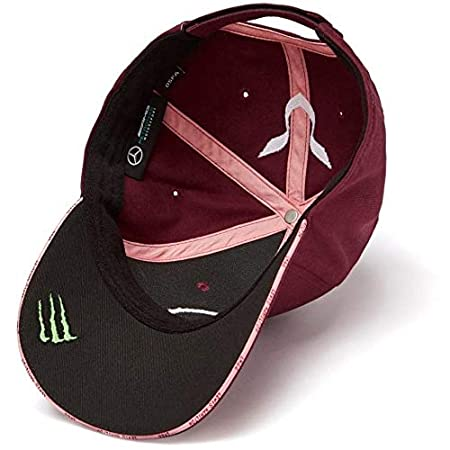 Amazon.com: Mercedes Benz F1 Special Edition Lewis Hamilton 2018 Singapore Wine Red Hat: Sports & Outdoors