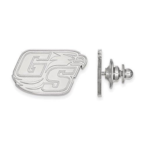 Sterling Silver LogoArt Official Licensed Collegiate Georgia Southern University (GSU) Lapel Pin by LogoArt