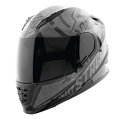 Speed & Strength SS1600 Helmet - Sure Shot (Medium) (Black/Charcoal)
