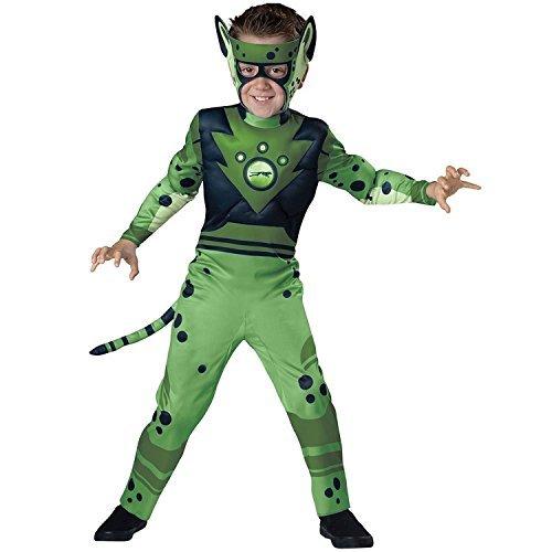 InCharacter Quality Wild Kratts Child Costume Green Cheetah - Medium