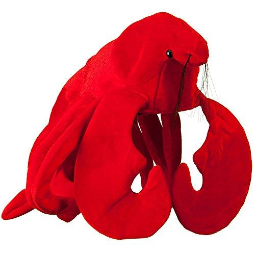 Plush Lobster Hat ()
