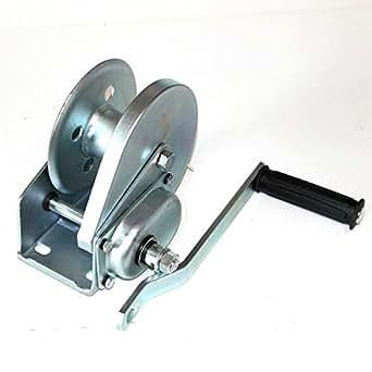 Ruhr-Werkzeug - Cabrestante manual con frenos incorporados (fuerza de tracción de 500 kg, fuerza de palanca de 200 kg)