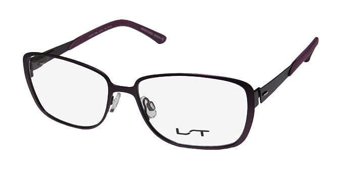 60a395980f Lightec 7009l Mens Womens Vision Care Fancy Designer Full-rim Flexible  Hinges Eyeglasses