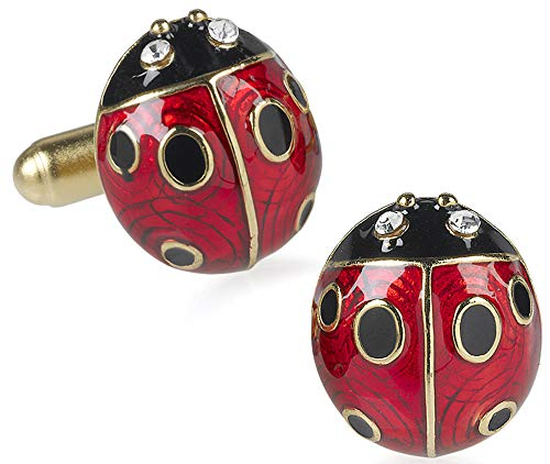 Easter Egg Sale - Ladybug Cufflinks From Our Museum Store Reproductions