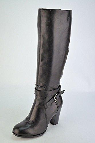 Marc Fisher Kessler Women's Black Leather Knee-high Boots US5m (Marc Fisher Kessler Boots compare prices)