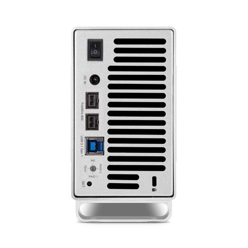 OWC Mercury Elite Pro Dual Bay RAID Multi-Interface Storage Enclosure, USB 3.0/FireWire 800 by OWC