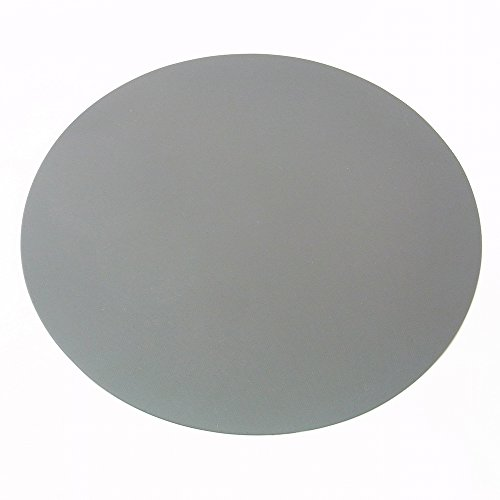 SIENOC Super-thin Round Silicone Mice Mouse Pad Mat Mousepad Color Gray