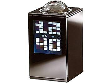 infactory nc5036 Reloj seglia Tower con proyector horario, Negro ...