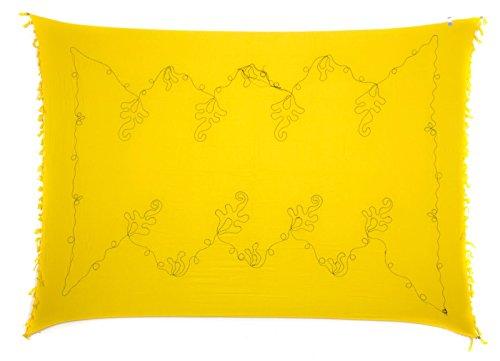 Ciffre - Camisola - para mujer amarillo negro