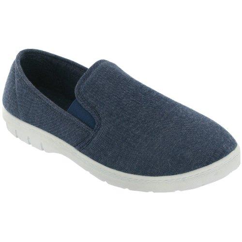 Chaussures en toile Mirak Tommy pour homme (41 EUR) (Beige) WjLPqaysV