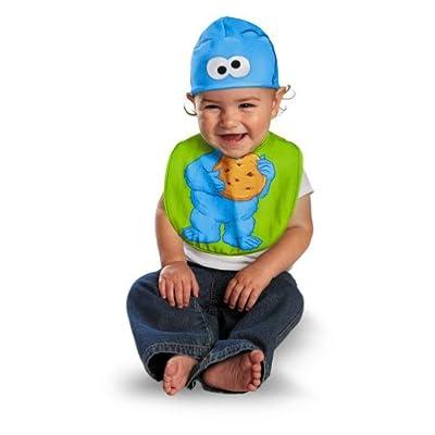 Cookie Monster Bib & Hat Baby Costume - Newborn: Toys & Games