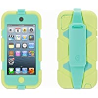 Griffin Lime/Mint Survivor All-Terrain Case + Belt Clip for iPod touch (5th/ 6th gen.) - Extreme-duty case