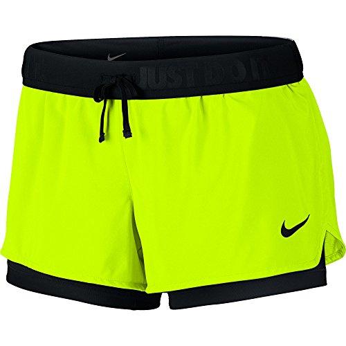 NIKE Full Flex 2 in 1 2.0 Short (Large, (Nike Embroidered Shorts)