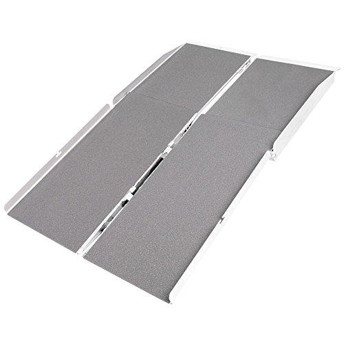 - Silver Spring WCMF-4 Aluminum Multi-Fold Wheelchair Ramp - 4'Long