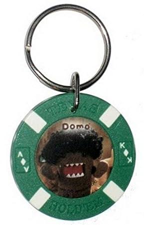 Amazon.com: Domo Kun Afro Poker Chip Llavero dk2035 ...