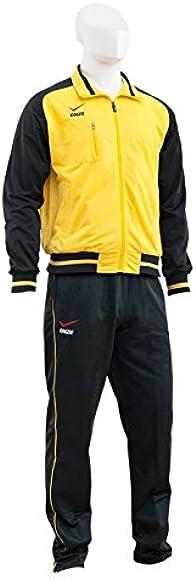 Onze Manchester - Chandal para hombre, color amarillo / negro ...