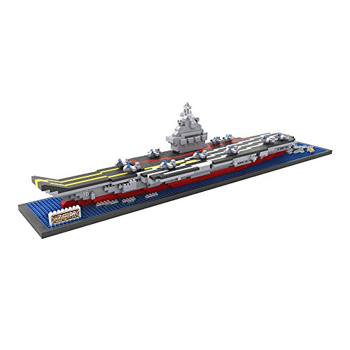 LOZ Building & Construction 9390 Chinese Aircraft Carrier Liaoning Building Blocks (1300 Piece)