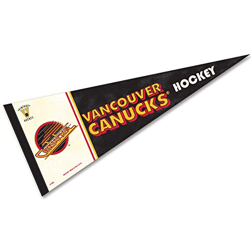 - Wincraft NHL 63312081 Vancouver Canucks Premium Pennant, 12
