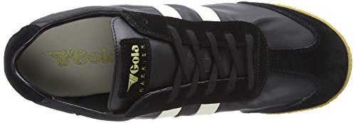 Black para White Bx Gola Hombre Harrier Nylon Off Negro Zapatillas PqW8OYHT